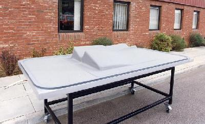baggy silicone membrane trolley bench press